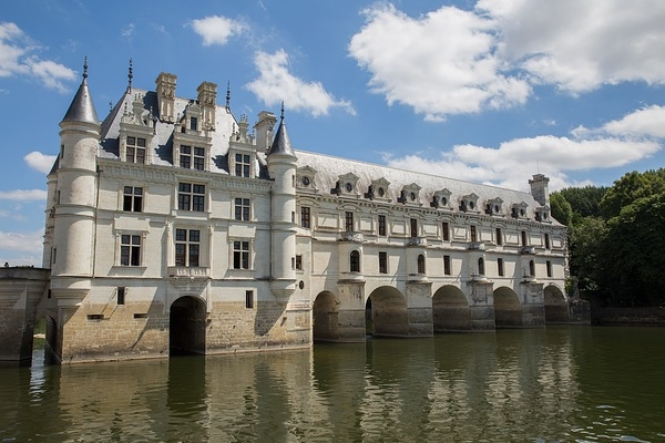 シュノンソー城 ロワールの古城 フランスの世界遺産