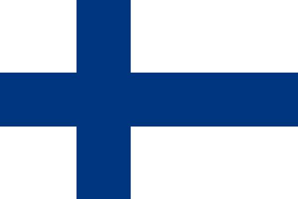 フィンランドの国旗