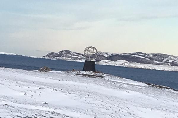 北極圏のモニュメント