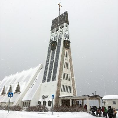 世界で一番北にある、ハンメルフェストの教会