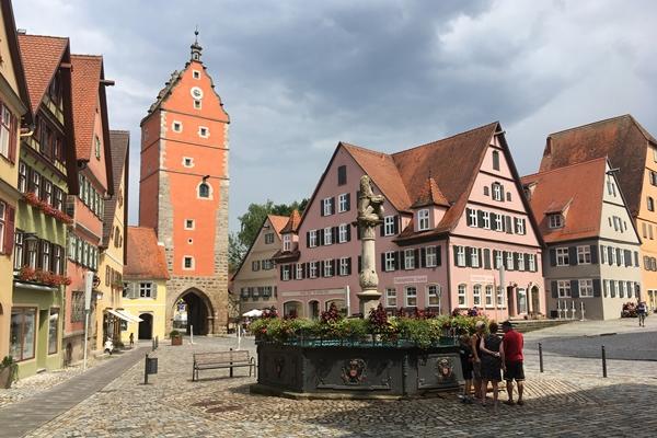 ディンケルスビュールの観光 ドイツ ロマンチック街道(Dinkelsbühl)