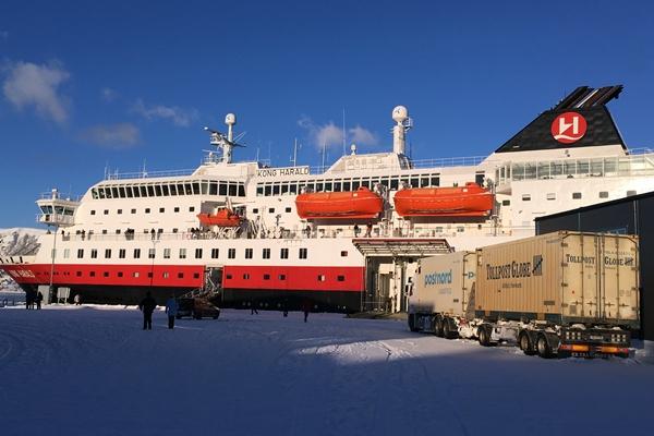 ノルウェー沿岸急行船 フッティルーテン