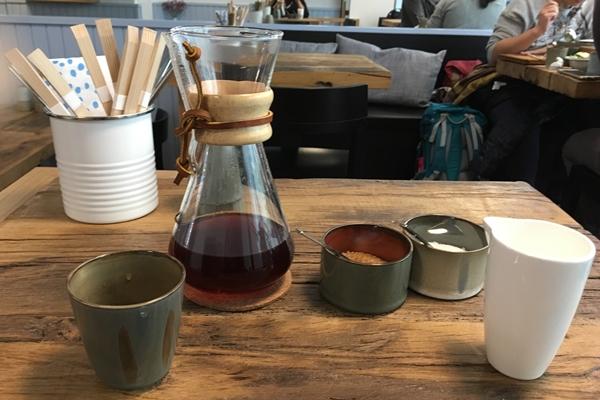 カモメ食堂のコーヒー