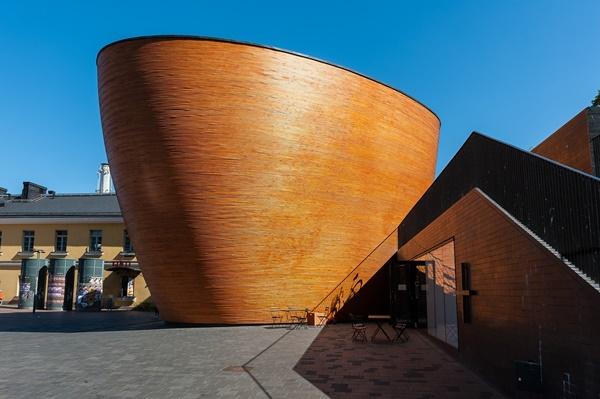 カンピ静寂の礼拝堂(Kamppi Chapel of Silence)