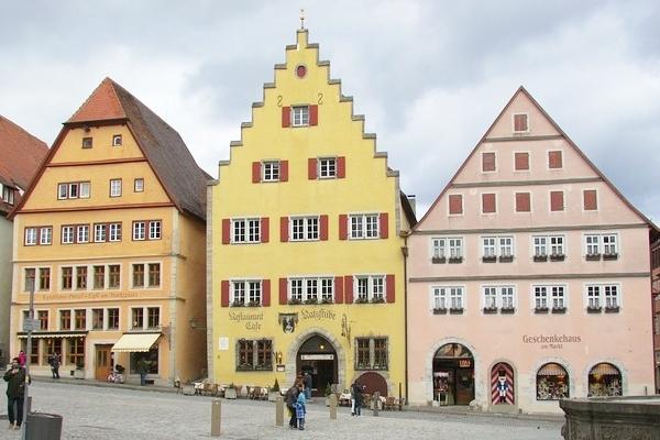 ローテンブルクの観光 ドイツ ロマンチック街道(Rothenburg ob der Tauber)