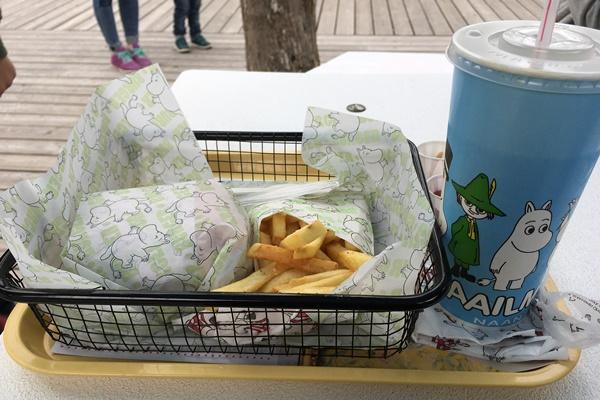 ムーミンハンバーガー