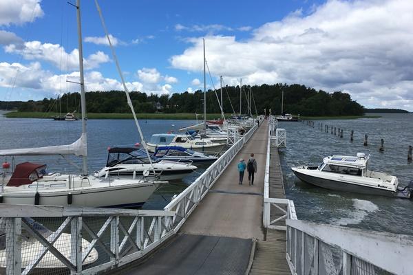 ムーミンワールドへの橋