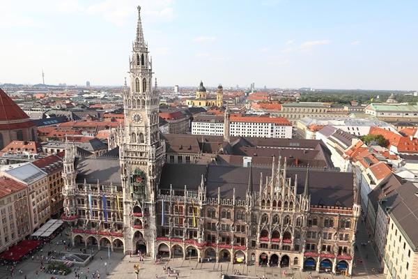 マリエン広場と新市庁舎 (Marienplatz & Neues Rathaus)