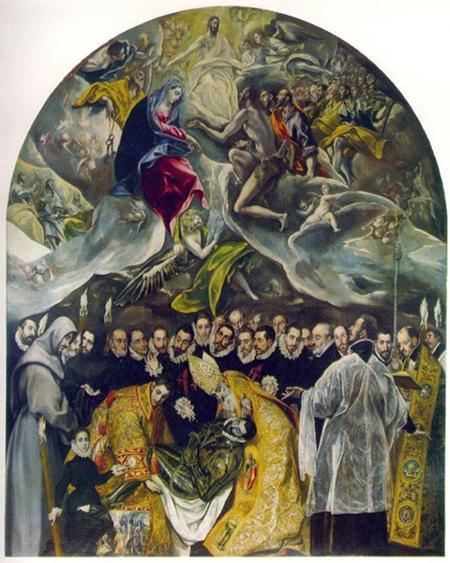 エル・グレコのオルガス伯爵の埋葬
