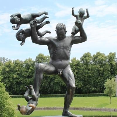 ヴィーゲランの彫刻