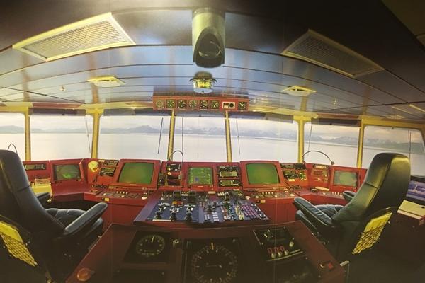 フッティルーテンの操縦席