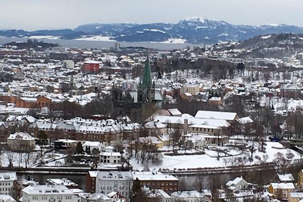 ノルウェー第3の都市、トロンハイム